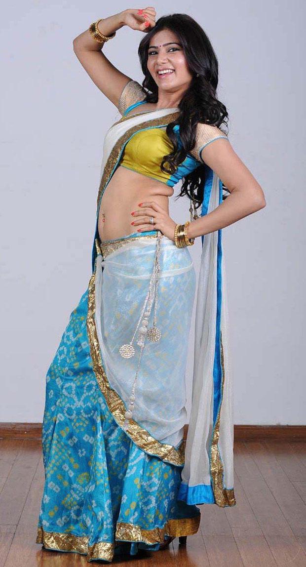 Samantha Ruth Prabhu In Saree Sizzling Still