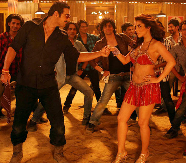 John And Sophie Sizzling Dance Still From Shootout At Wadala Movie