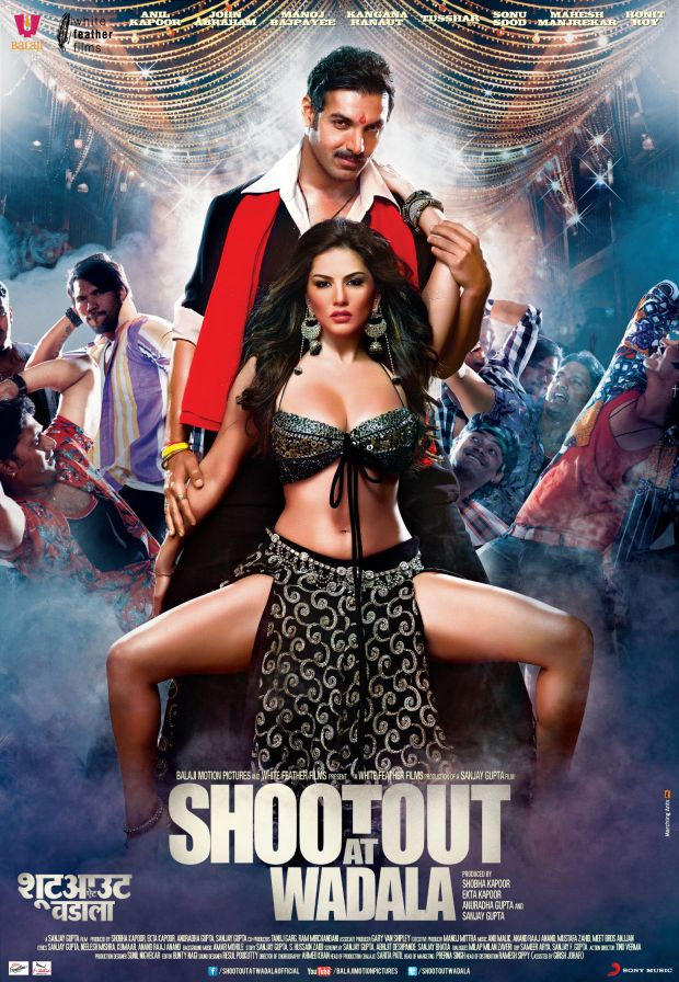John And Sunny Bold Pose In Shootout At Wadala Movie Poster