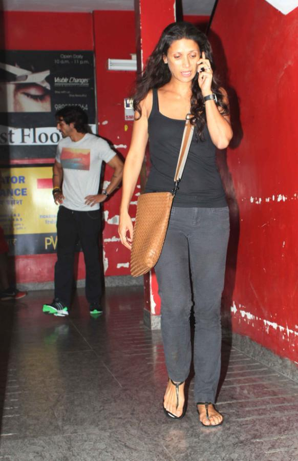 Mehr Rampal Attends The Screening Of Iron Man 3