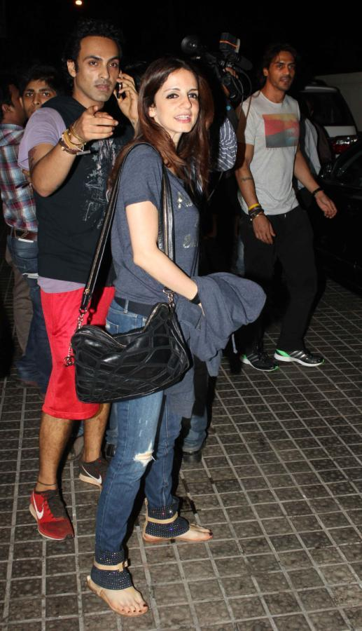 Suzanne Roshan Attends The Screening Of Iron Man 3