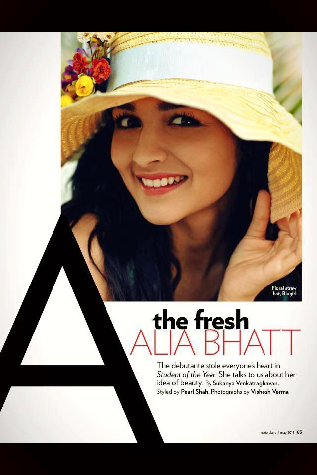 Fresh Bollywood Babe Alia Bhatt Cool Sweet Photo Shoot
