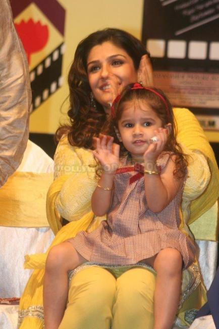 Raveena Tandon  Nice pic With Her Daughter Rasha