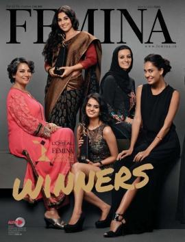 Shabana,Vidya And Lisa Graced On The Cover Of Femina May 2013