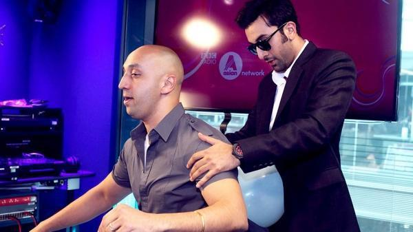 Ranbir Kapoor During The Promotion Of YJHD In London