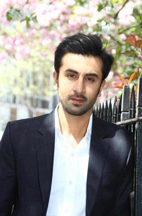 Ranbir Kapoor Handsome Look During The Promotion Of YJHD In London