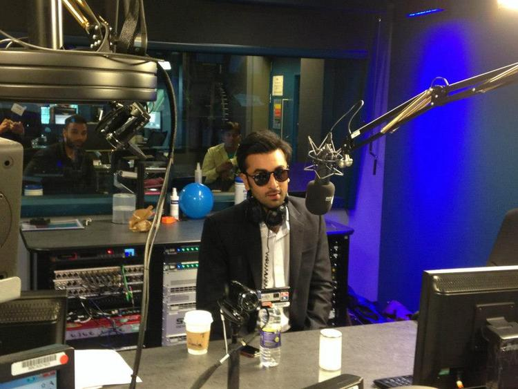 Ranbir Kapoor Stylish Look During The Promotion Of YJHD In London
