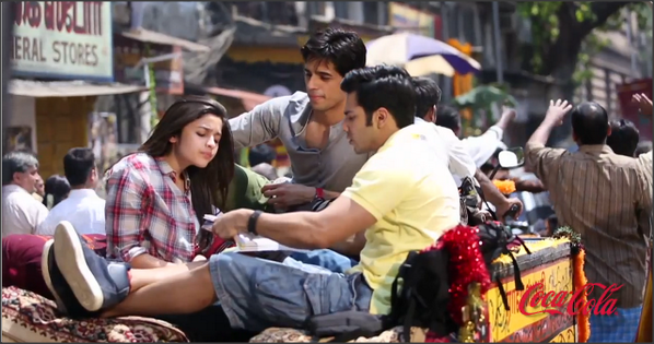 Student Of The Year Cool Trio Coca Cola Ad Latest Still