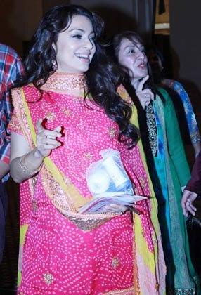 Juhi Chawla at The 3rd Petrochem GR8 Women Awards in Middle East