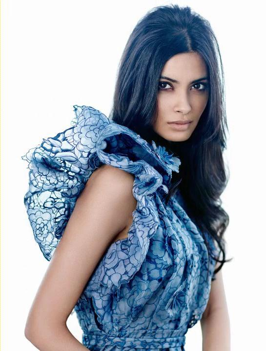 Diana Penty in Stella McCartney For Femina May 2013