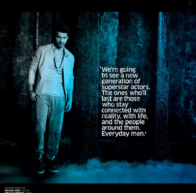 Varun Dhawan Graced On The GQ India May 2013