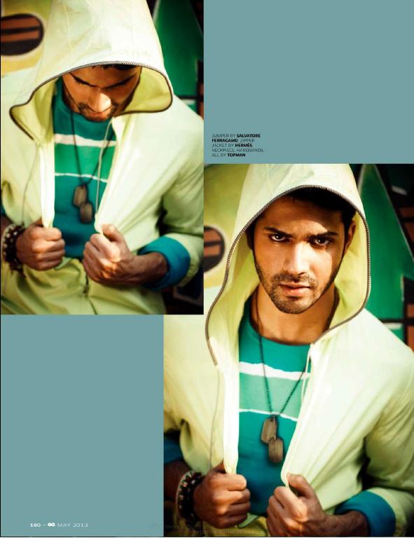 Varun Dhawan Hot Look Photo Shoot For GQ India May 2013