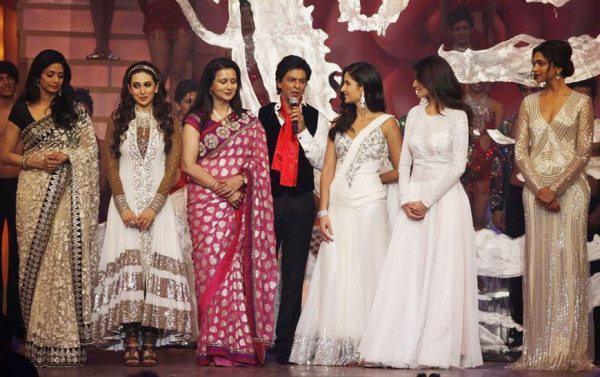 Shahrukh And Sridevi Graced At A Function Still