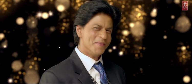 Shahrukh Khan Cute Face Look In Apna Bombay Talkies Song