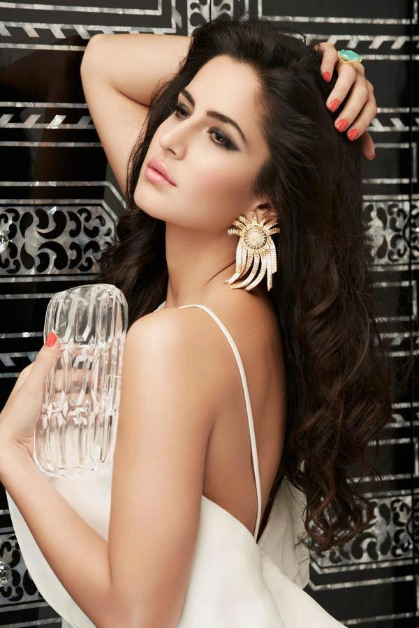 Sizzling Beauty Of Bollywood Katrina Kaif Does A Photoshoot For L'Officiel Magazine Cover