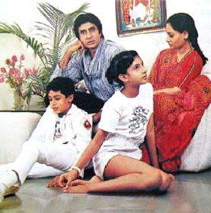 Amitabh and Jaya Photo Shoot With Abhishek and Shweta