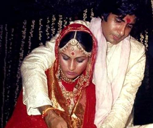 Amitabh and Jaya Wedding Photo
