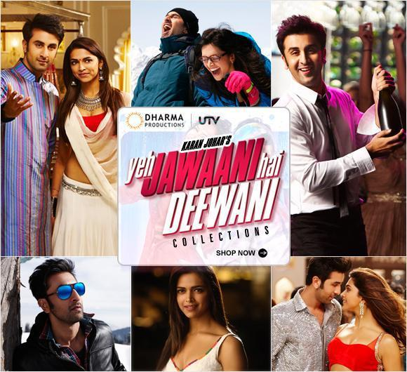 Ranbir And Deepika In Yeh Jawaani Hai Deewani Movie Wallpaper