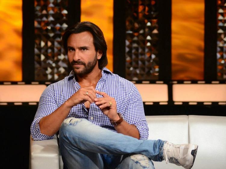Saif Ali Khan Nice Look On The Front Row Show