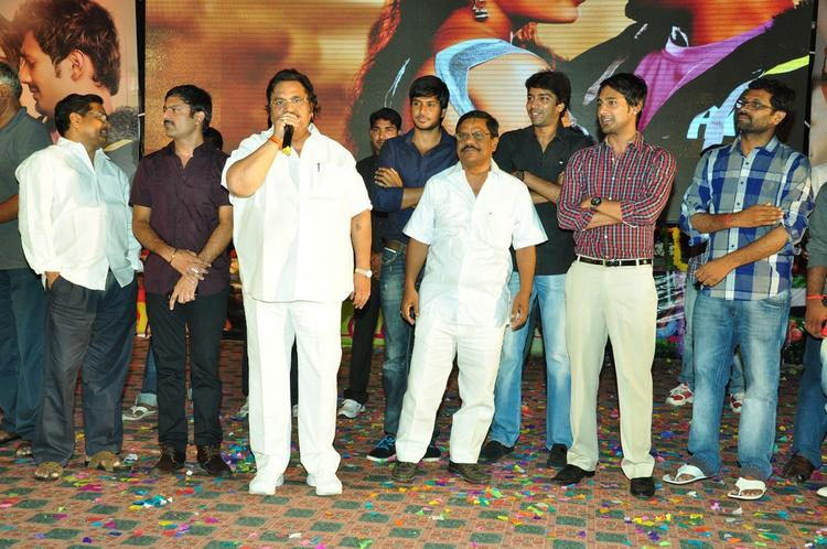 Dasari Narayana,Sundeep,Allari And Varun Present At Saradaga Ammaitho Movie Audio Launch Function