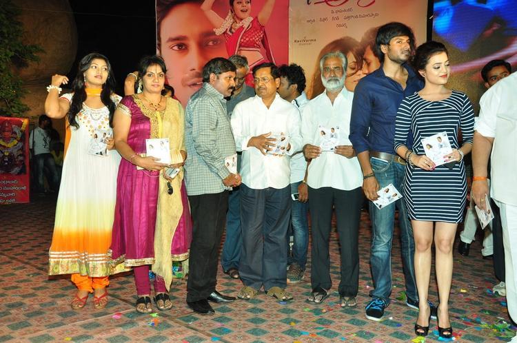 Varun Sandesh And Nisha Agarwal Snapped At Saradaga Ammaitho Movie Audio Launch Function