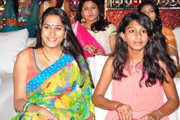 Surekha Vani Cool Smiling Look At Saradaga Ammaitho Movie Audio Release Function