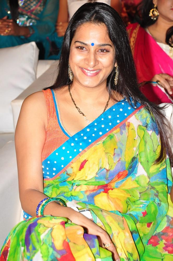 Surekha Vani Dazzling Look At Saradaga Ammaitho Movie Audio Release Function