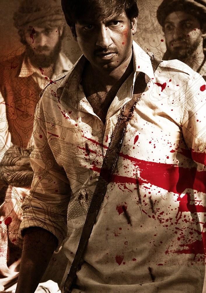 Gopichand Bloody Fighting Still From Sahasam Movie