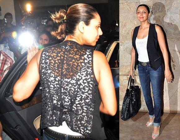 Gauri Khan Snapped At Bombay Talkies Special Screening Event