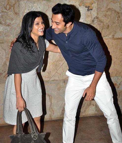 Konkona And Rahul Cool At Bombay Talkies Special Screening Event