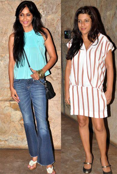 Zoya Akhtar Posed During The Special Screening Of Bombay Talkies