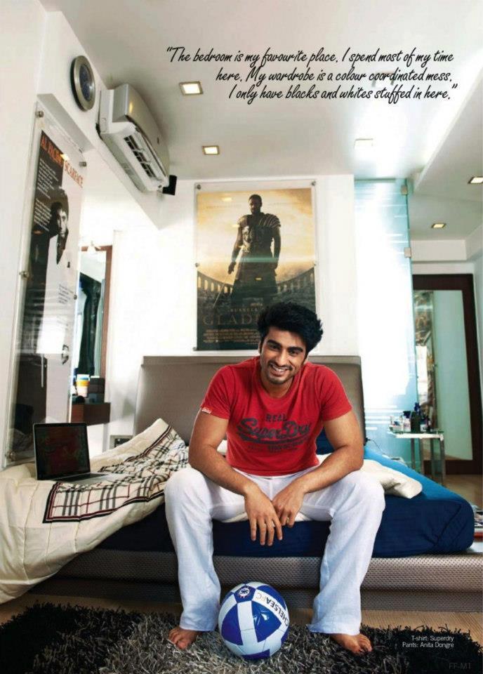 Arjun Kapoor Cool Pose For Filmfare Magazine 2013