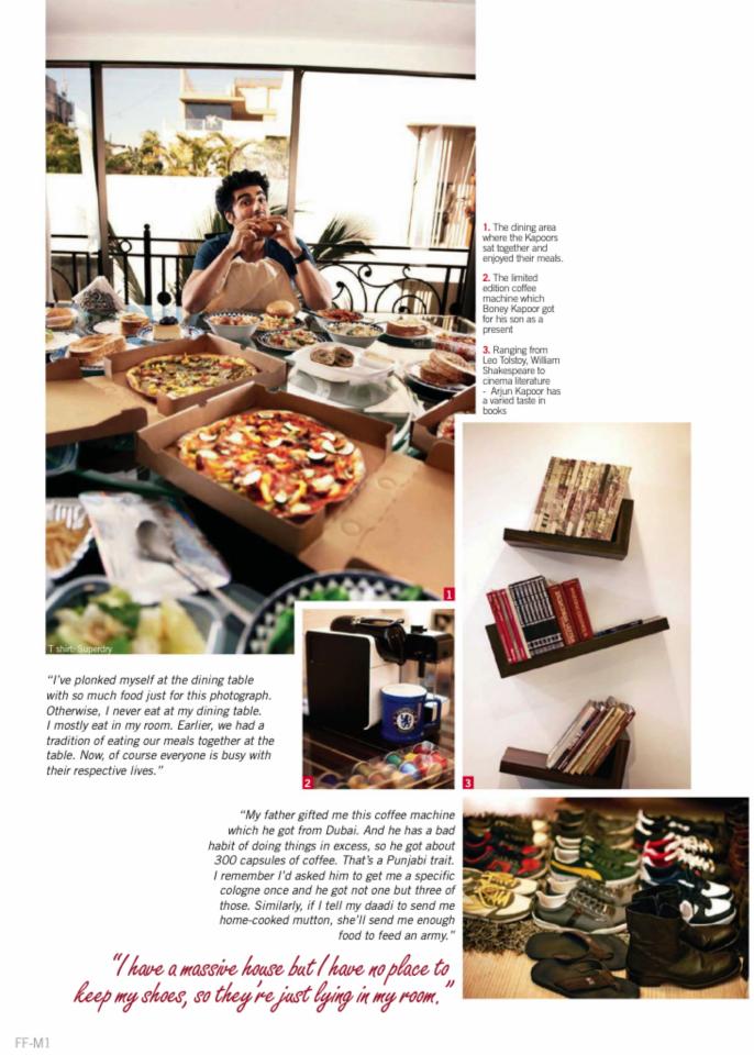 Arjun Kapoor Latest Pic For Filmfare Magazine