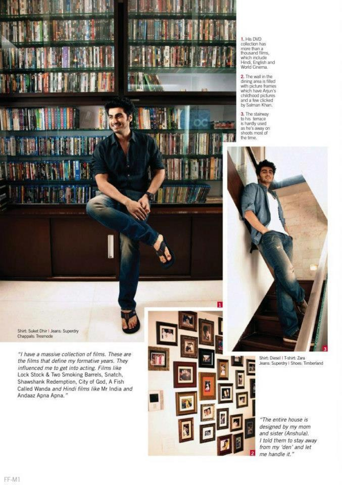 Bollywood Hunk Arjun Kapoor Shoot For Filmfare Magazine