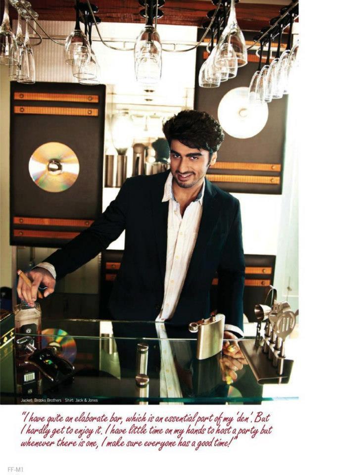 Hot Bollywood Star Arjun Kapoor Filmfare Magazine Pic