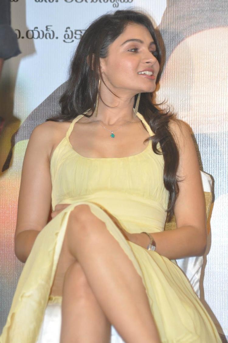 Andrea Jeremiah Hot Stills During Tadakha Movie Press Meet