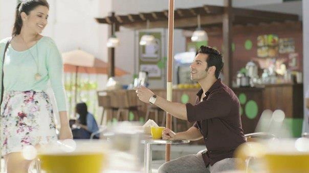 Varun And Parineeti New Look In We Chat TVC Ad