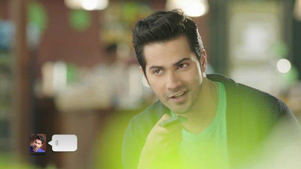Varun Dhawan Handsome Look Photo Shoot For We Chat TVC Ad