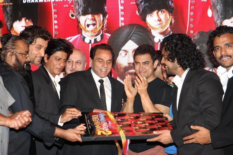 Aamir,Srk,Hrithik And Others At Yamla,Pagla,Deewana 2 Music Launch