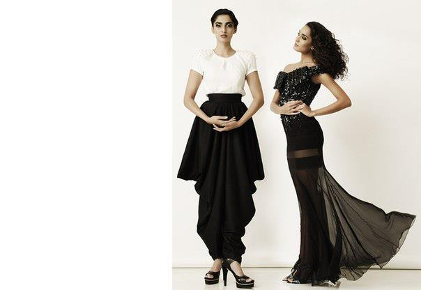 Sonam And Lisa Glamour Look Photo Shoot For Elle May 2013
