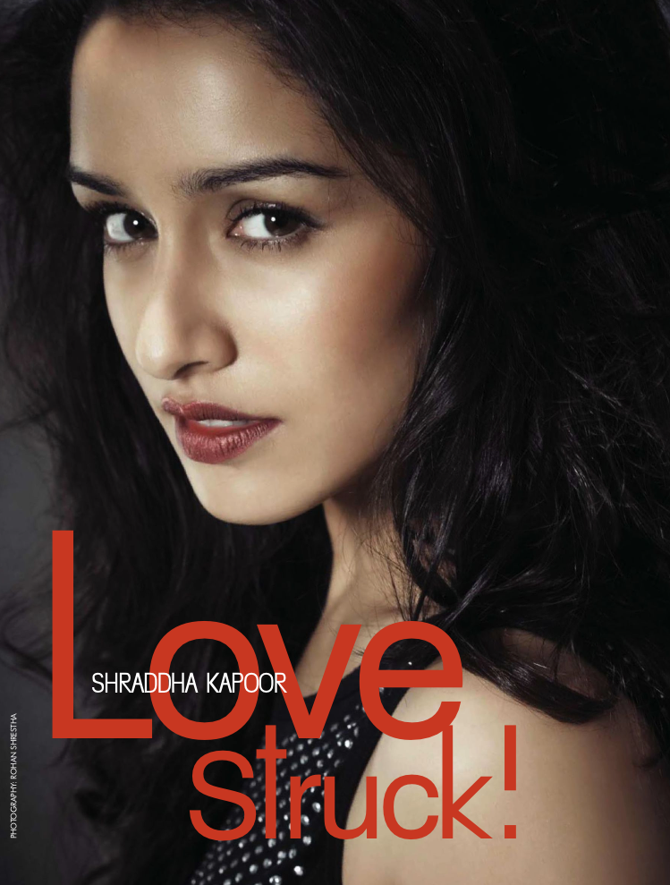 Shraddha Kapoor Stunning Look Photo Shoot For Cineblitz May 2013