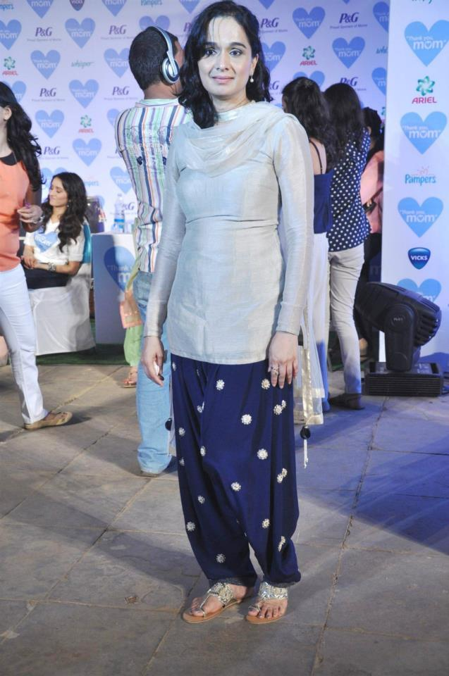Shivangi Kolhapure Attend The Mother's Day Celebration At P And G Thank You Mom Campaign