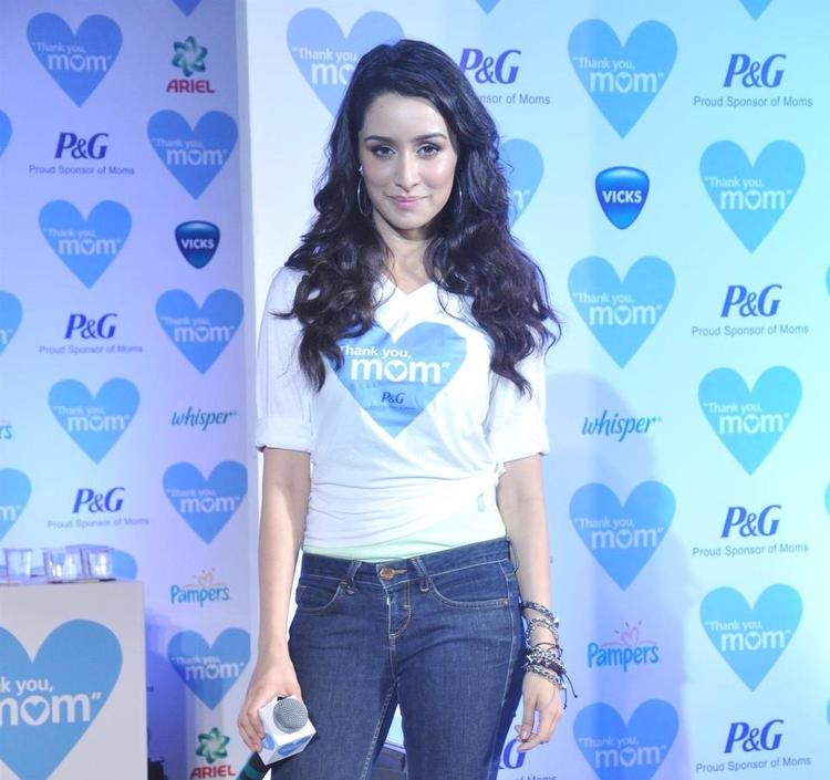 Shraddha Kapoor Attend The Mother's Day Celebration In Mumbai