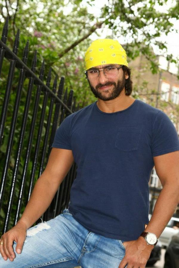 Saif Ali Khan Nice Look At London During Go Goa Gone Press Conference