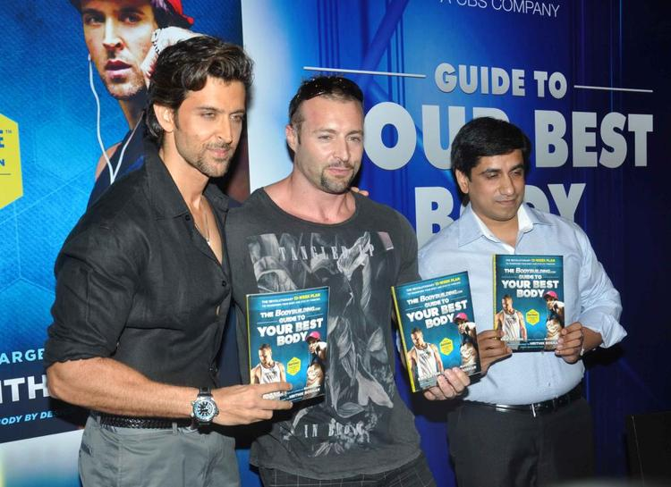 Hrithik Roshan And Kris Gethin Launche's Your Best Body Book