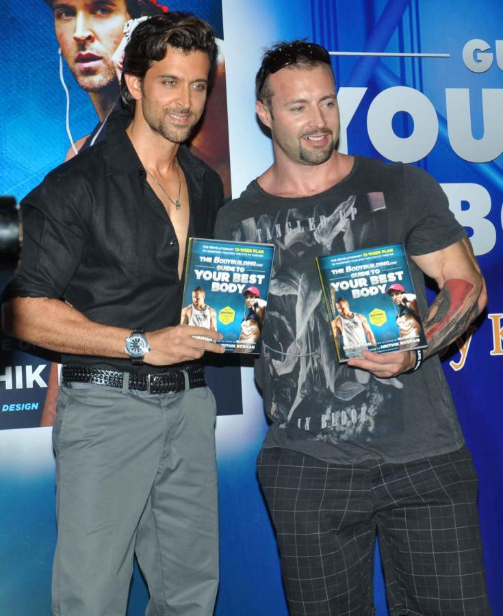 Hrithik Roshan And Trainer Kris Launches Fitness Book Your Best Body Book