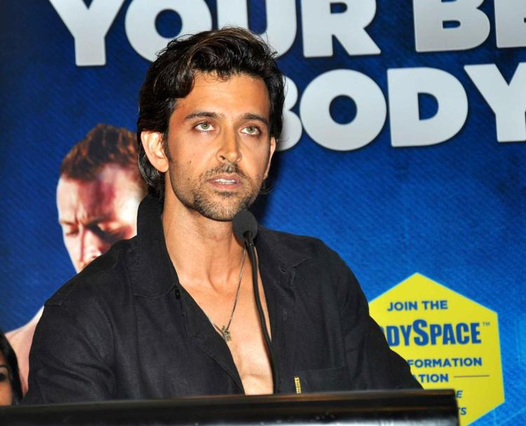 Hrithik Roshan At Fitness Book Your Best Body Launch Event