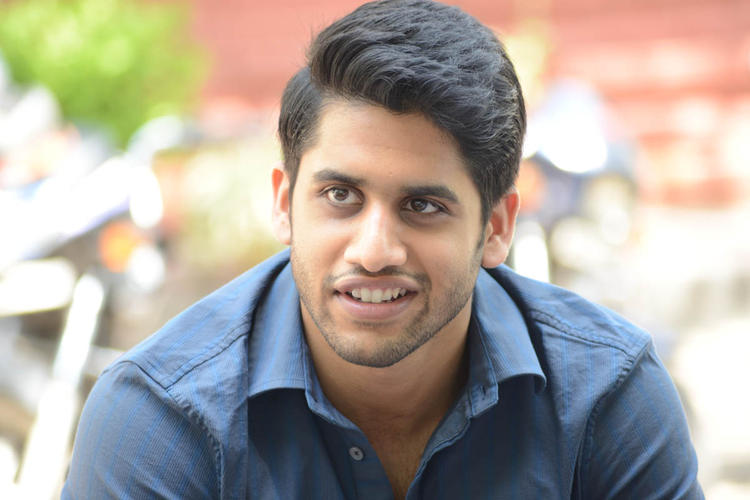 Naga Chaitanya Cool And Cute Face Look During The Interview Of Thadaka Movie