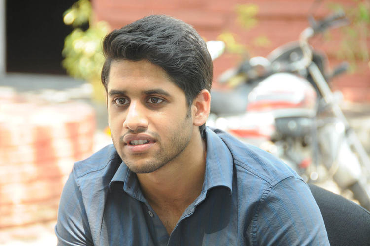 Naga Chaitanya Nice Look During The Interview Of Thadaka Movie