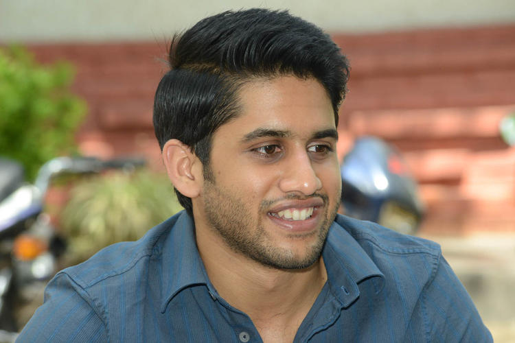 Naga Chaitanya Smiling Look During The Interview Of Thadaka Movie